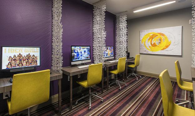 Computer Center with High-Speed Internet